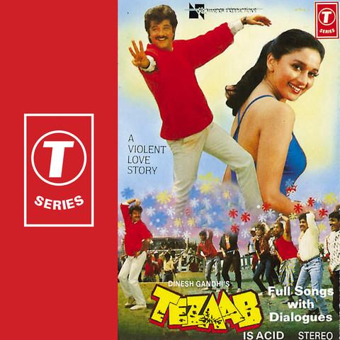 Ek Do Teen Char MP3 Song Download- Tezaab Ek Do Teen Char Song by