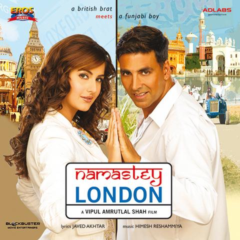 Download song main jahan rahoon namaste london.