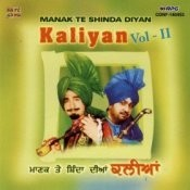 Kaliyan Manak Te Shinda Vol 2 Songs