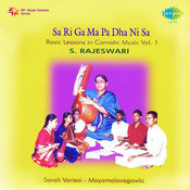 Sa Riga Ma Basic Lessons In Carnatic S Rajeswari