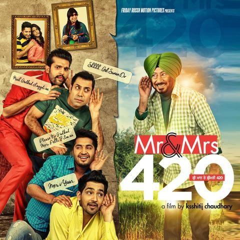 Naina Nu MP3 Song Download- Mr  And Mrs  420 Naina Nu