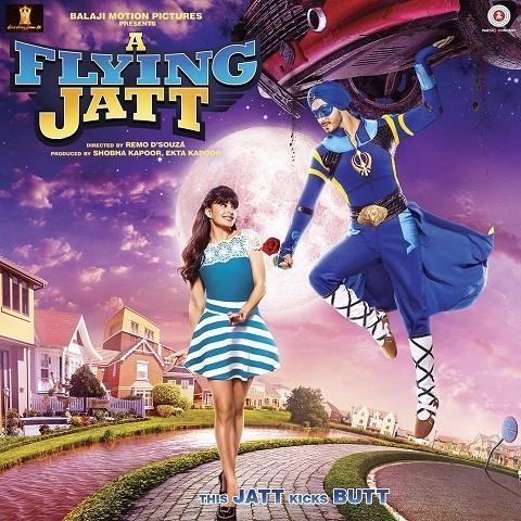 A Flying Jatt - Title Track MP3 Song Download- A Flying Jatt
