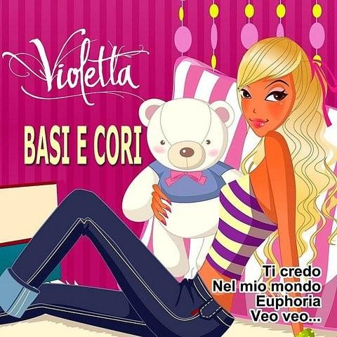 Violetta 2 canciónes y 8 instrumental (por cantar todos juntos) by.