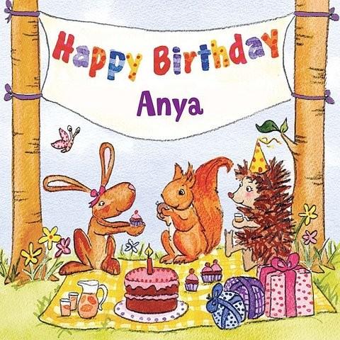 Happy Birthday Anya MP3 Song Download- Happy Birthday Anya Happy