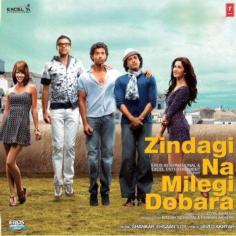 Senorita MP3 Song Download- Zindagi Na Milegi Dobara Senorita (सेनोरीटा)  Song by Farhan Akhtar on Gaana.com