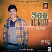 500 De Note