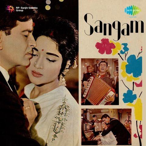 O Mere Sanam Mp3 Song Download Sangam O Mere Sanam Song By Lata Mangeshkar On Gaana Com