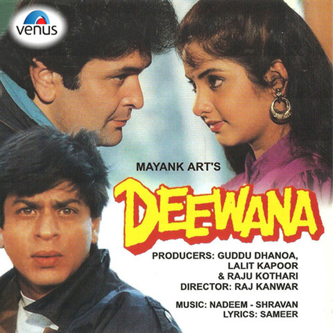 Aisi deewangi dekhi nahi kahi hd deewana 1992 songs youtube.