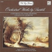 Bartok: Orchestral Works Songs