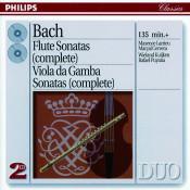 Bach, J.S.: The Flute Sonatas/The Viola da Gamba Sonatas Songs