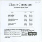 Classic Composers - Sri Puraandaradasa Songs