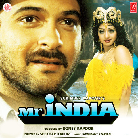 Mr. India Songs Download: Mr. India MP3 Songs Online Free