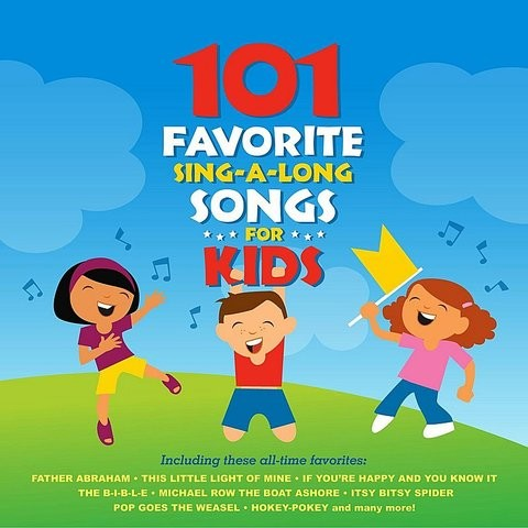 Give Me Oil In My Lamp MP3 Song Download- 101 Favorite Sing-A-Long