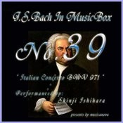 Bach In Musical Box 39 / Italian Concerto Bwv 971& 3 Menuet Bwv841-843 Songs