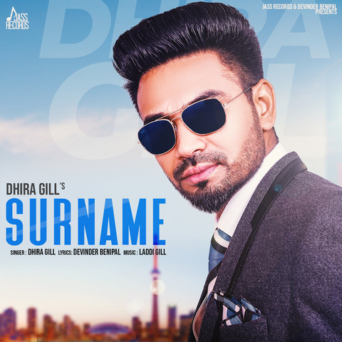 Surname MP3 Song Download- Surname Surname Punjabi Song by Dhira