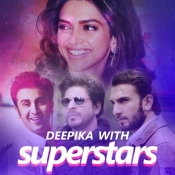 Deepika with Superstars