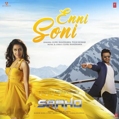 Enni Soni MP3 Song Download- Saaho (Hindi) Enni Soni Song by