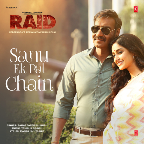 Sanu Ek Pal Chain Mp3 Song Download Raid Song By Rahat Fateh Ali