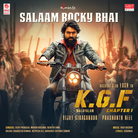 Salaam Rocky Bhai MP3 Song Download- KGF Chapter 1