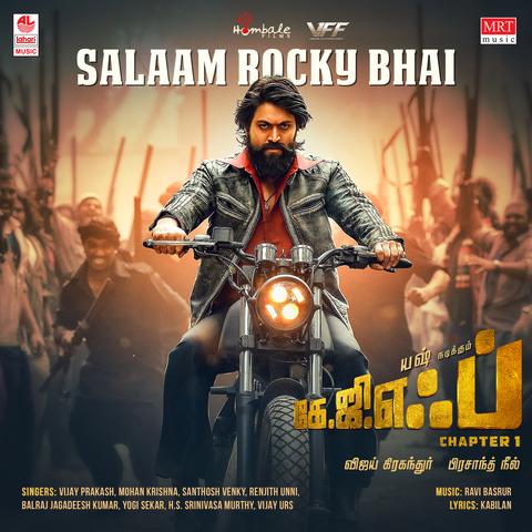 Salaam Rocky Bhai MP3 Song Download- KGF Chapter 1 (Tamil