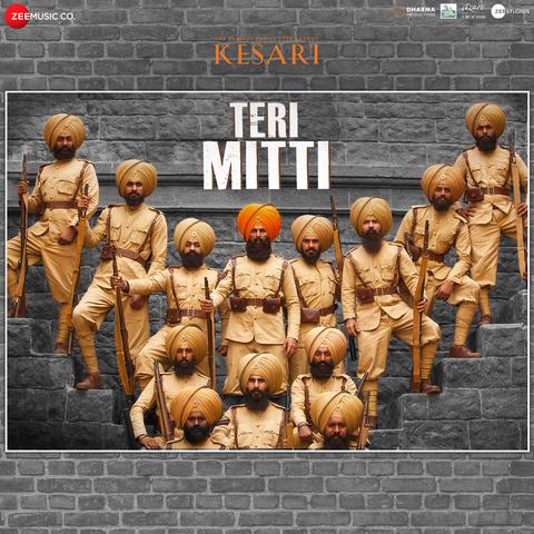 Teri Mitti MP3 Song Download- Kesari Teri Mitti Song by B Praak on