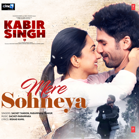 Mere Sohneya Mp3 Song Download Kabir Singh Mere Sohneya Song By