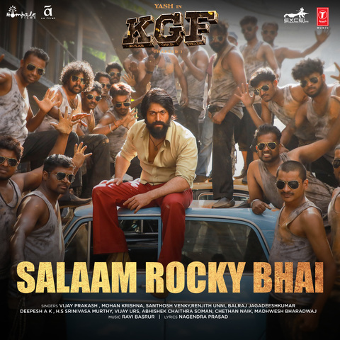 Salaam Rocky Bhai MP3 Song Download- KGF Chapter 1 (Hindi