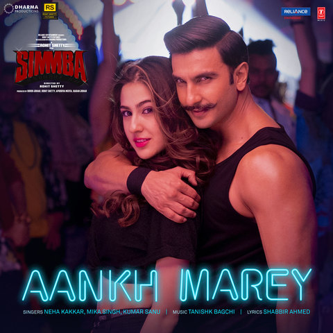 Aankh Marey MP3 Song Download- Simmba Aankh Marey Song by Neha