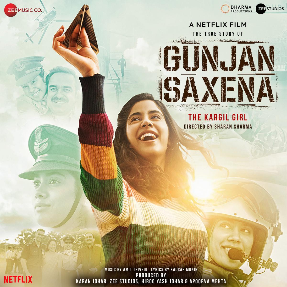 Gunjan Saxena The Kargil Girl Songs Download Gunjan Saxena The Kargil Girl Mp3 Songs Online Free On Gaana Com
