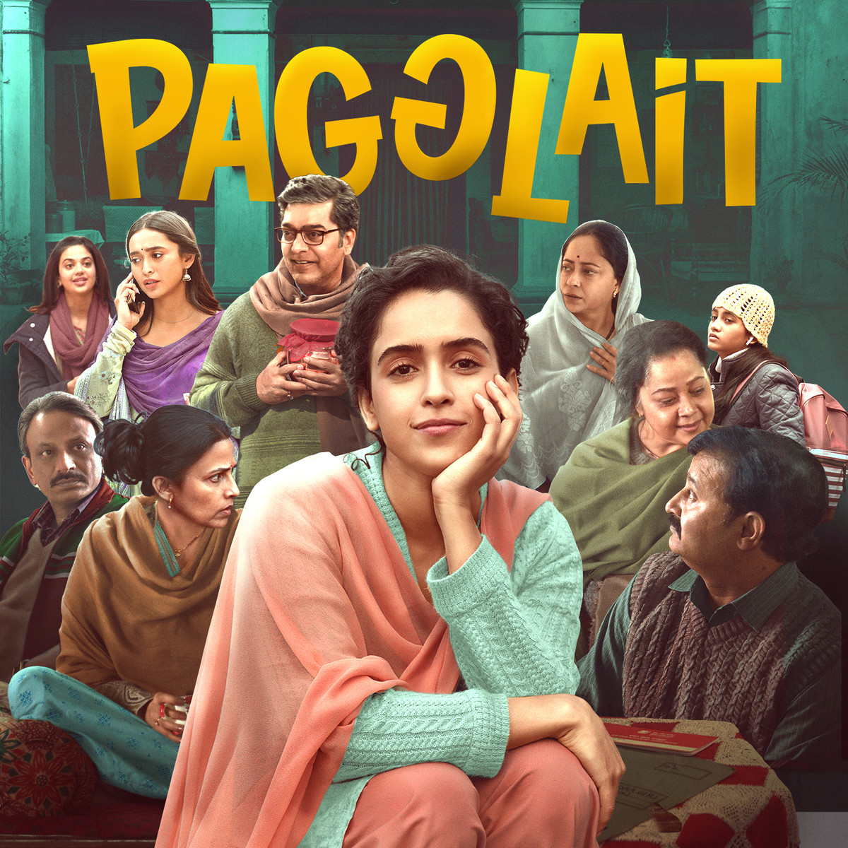 Pagglait (Original Motion Picture Soundtrack) Songs Download: Pagglait (Original Motion Picture Soundtrack) MP3 Songs Online Free on Gaana.com