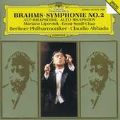 Brahms: Symphony No.2; Alto Rhapsody Songs
