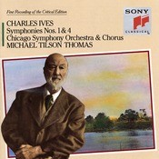 Ives: Symphonies Nos. 1 & 4 Songs