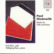 Hindemith: Sonatas Works For Cello And Piano Songs
