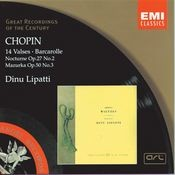 Chopin: 14 Waltzes/Barcarolle/Nocturne in D flat/Mazurka in C sharp minor Songs