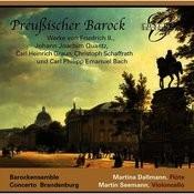 Frederick II, Quantz, Graun, Schaffrath & C.P.E. Bach: Prussian Baroque Songs