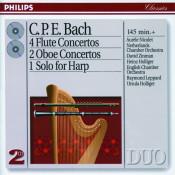 Bach, C.P.E.: 4 Flute Concertos; 2 Oboe Concertos, etc. Songs