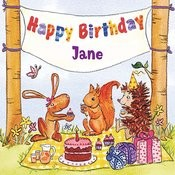Happy Birthday Jane Songs