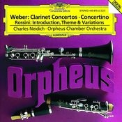 Weber: Clarinet Concertos / Rossini: Introduction, Theme and Variations Songs