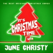 It's Christmas Time With June Christy Songs