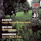 Chamber Music Of Barber, Nielsen & Hindemith Songs