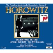Horowitz: The Historic Return; Carnegie Hall 1965; The 1966 Concerts Songs