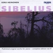 Sibelius : Published Original Works for Piano - Complete Edition Vol. 4 Songs