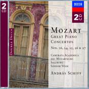 Mozart The Piano Concertos Songs