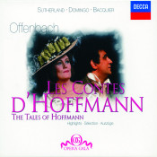 Offenbach Les Contes Dhoffmann Highlights Songs