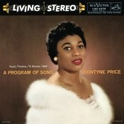 Leontyne Price - A Program Of Song Songs