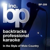 Karaoke - In the style of Male Country Songs
