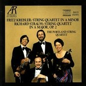 Strauss: String Quartet in A Major Op.2 - Kreisler: String Quartet in A Minor Songs
