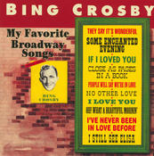 My Favorite Broadway Songs Songs