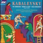 Kabalevsky: Romeo and Juliet - Suite, The Comedians - Suite, Colas Breugnon - Suite Songs