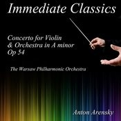 Arensky: Concerto For Violin And Orchestra In A Minor Songs